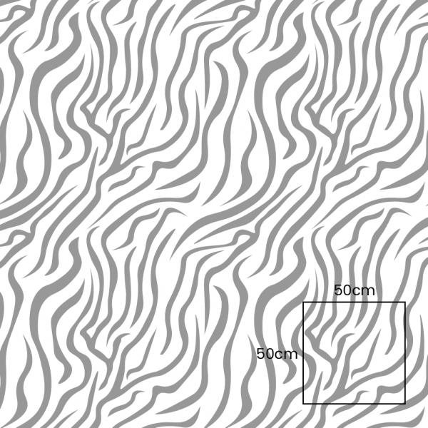 Zebra Light Grey