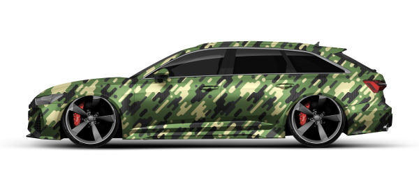Camouflage Cactus Green