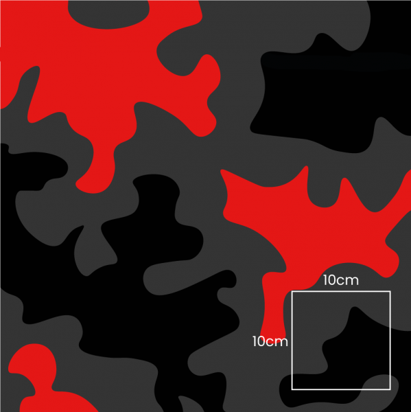 Camouflage Military Red