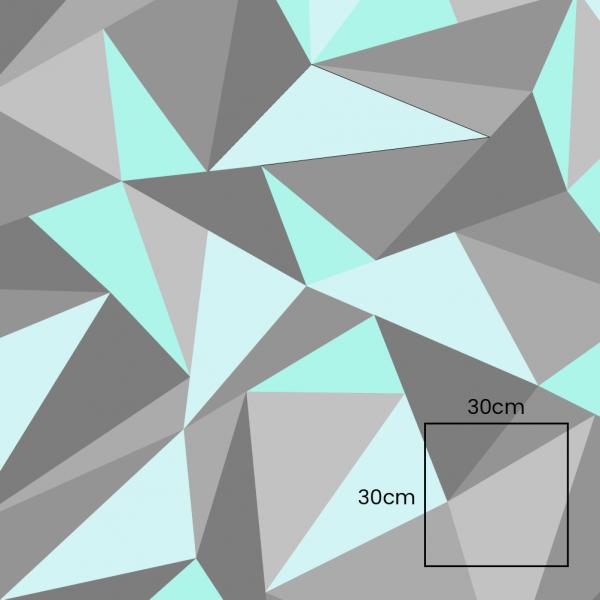 Triangle Mint Grey