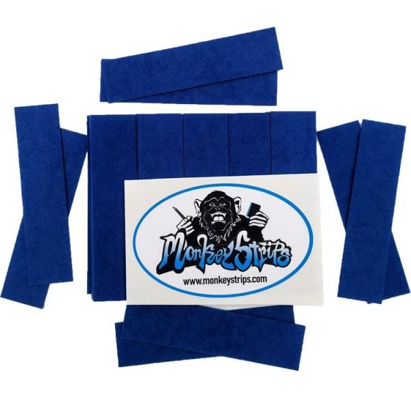Monkey Strips Blue - 50 Stück
