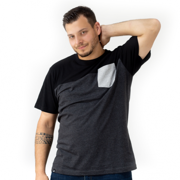 tripleschicht Pocket - T-Shirt